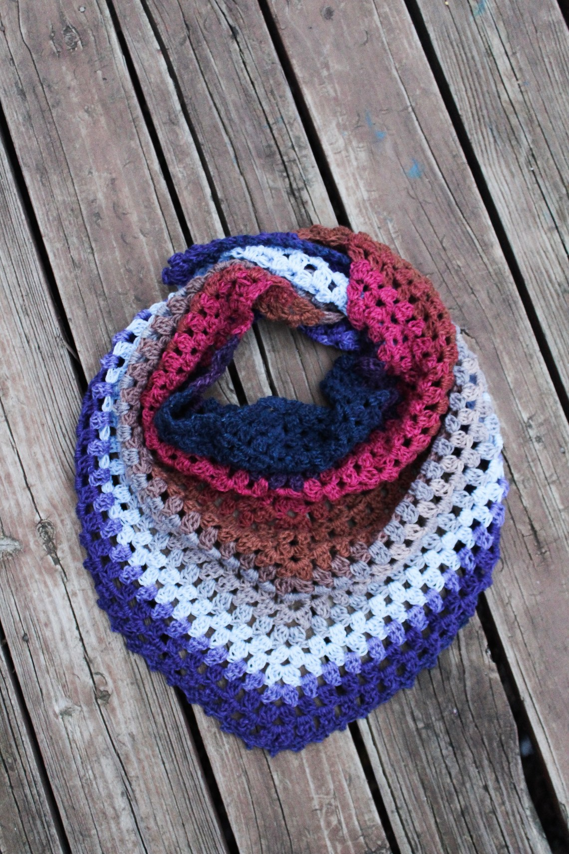 Make This One Skein Crochet Triangle Scarf In Less Than 3hrs