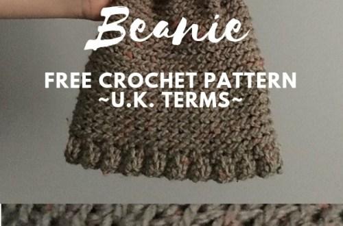 The Noah Beanie FREE Crochet Pattern