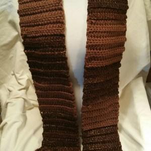 Crochet Super Size Scarf