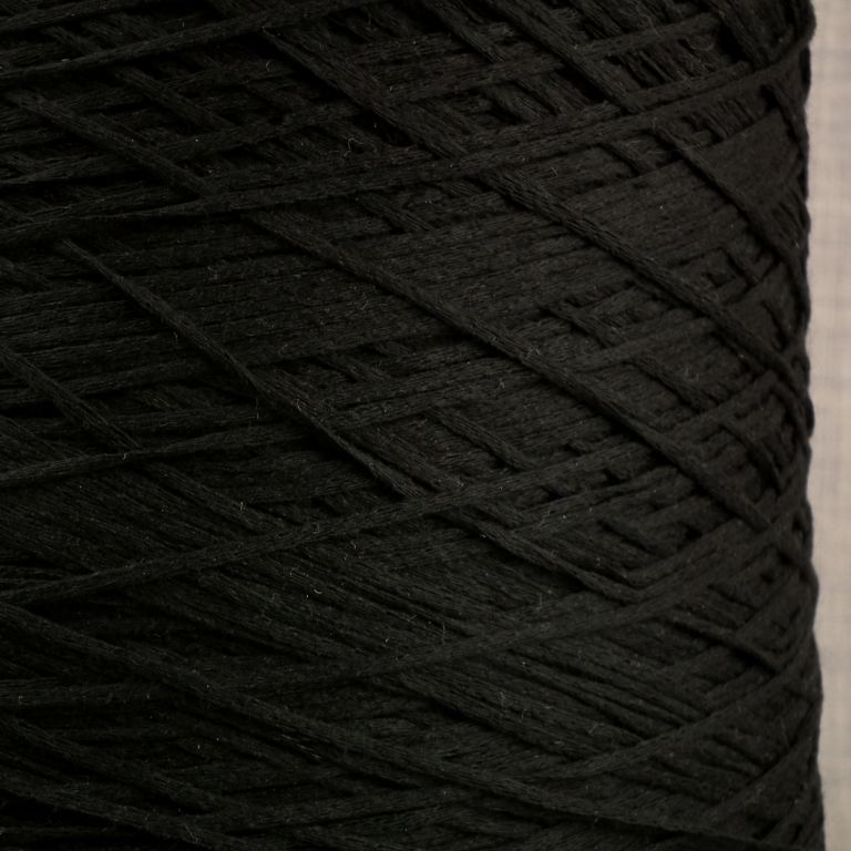 black tape yarn fettucina cone 4 ply knitting machine yarn hand knitting coned yarn uk