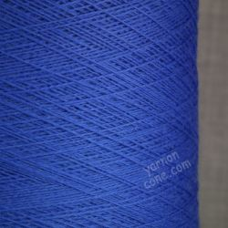 2/30NM zegna baruffa cashwool pure merino knitting wool laceweight yarn cone cobalt blue