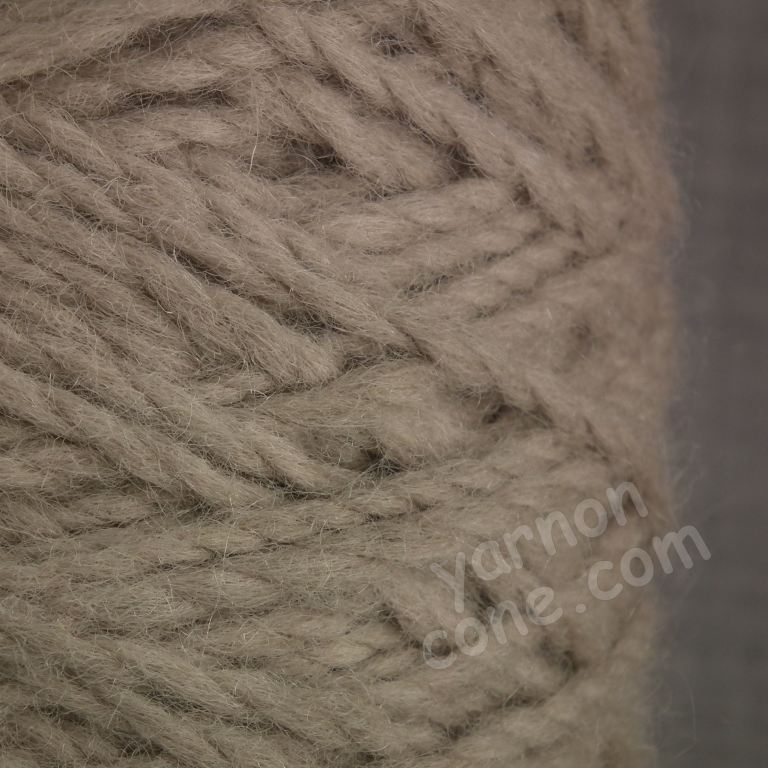 Berber rug making thick carpet yarn weaving latch hook rabbit brown thick wool cone