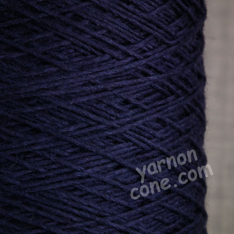 soft 4 ply merino silk pure luxury hand machine knitting yarn on cone navy blue