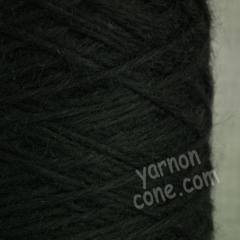 alpaca merino wool yarn aran weight soft knitting black