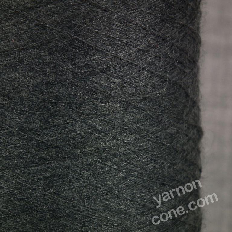 cashmere silk cobweb yarn fine 1/120s NM Italian luxury yarn cone grey