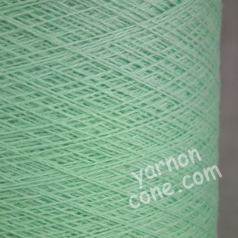 cashmere cotton todd duncan odyssey cone uk knitting soft mint green