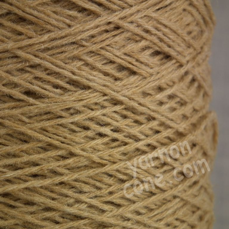 cashmere merino wool soft yarn on cone knitting italian quality 4 ply camel brown