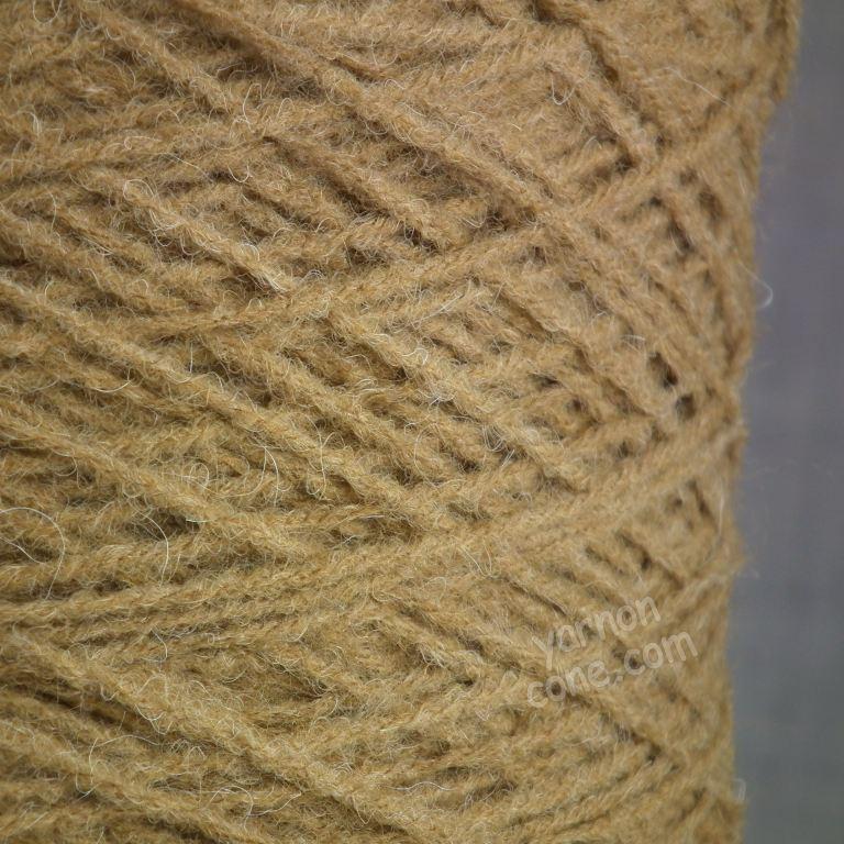 alpaca merino wool blend soft 4 ply hand and machine knitting yarn on cone uk camel brown
