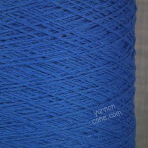 soft cashmere merino 3 ply yarn on cone wool hand machine knitting UK cobalt blue