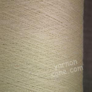 Pure silk cobweb yarn 2/120 NM italian 2/120NM on cone weaving knitting ivory cream ecru