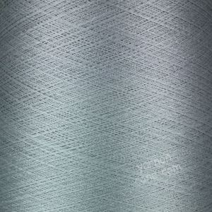 Pure silk cobweb yarn 2/120 NM italian 2/120NM on cone weaving knitting silver grey