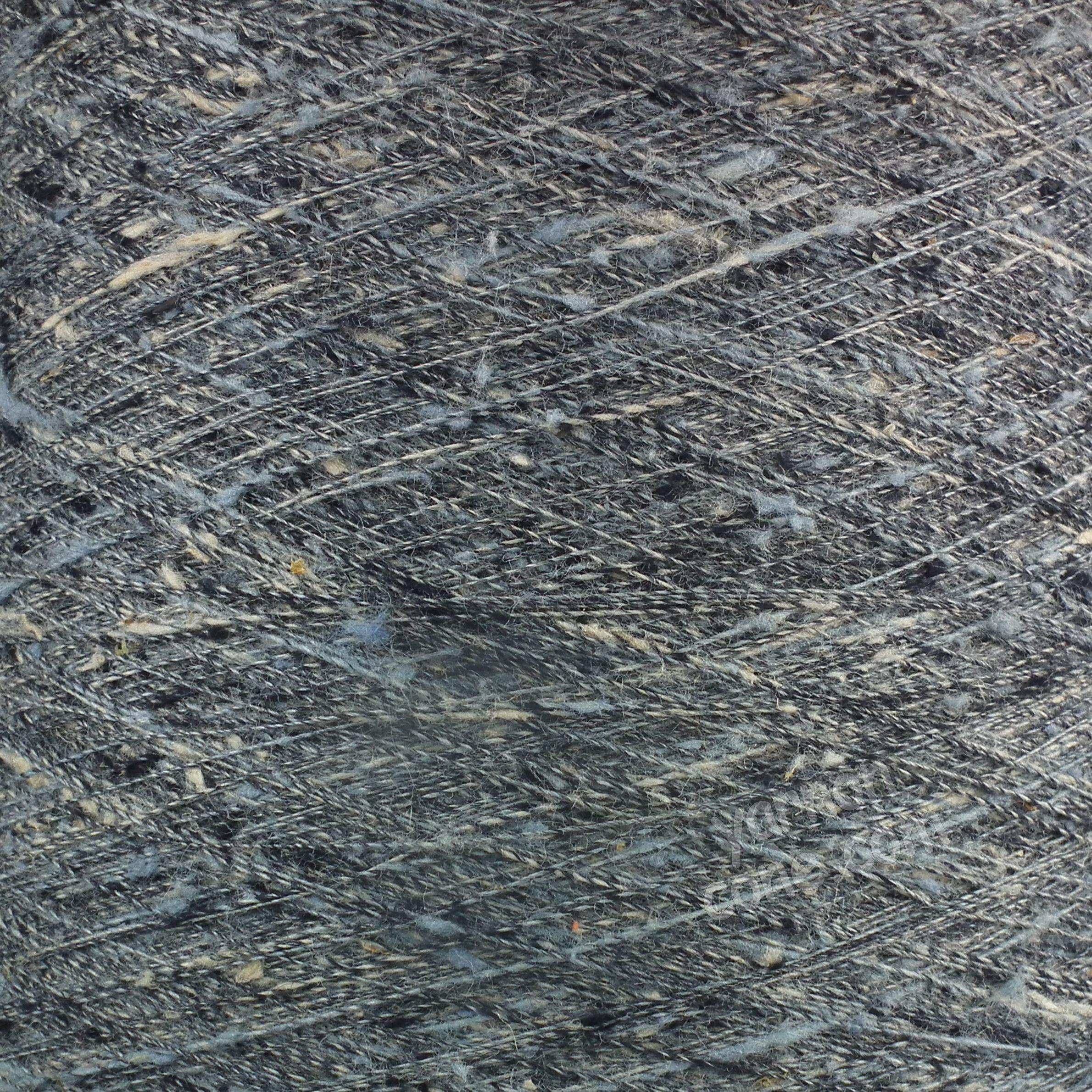 Pure Tussah Silk Yarn - Blue Grey