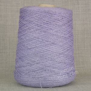 wool silk yarn on cone 3 ply for hand knitting machine knitting weaving UK supplier lavender lilac purple