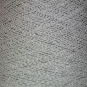 Linen cotton blend yarn undyed ecru weaving twist yarn on cone warp weft rustic style texture uk supplier