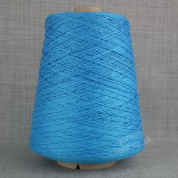 Mercerised cotton yarn on cone - 100% pure super soft pima cotton in vibrant shades for crochet hand machine knitting weaving and embroidery thread