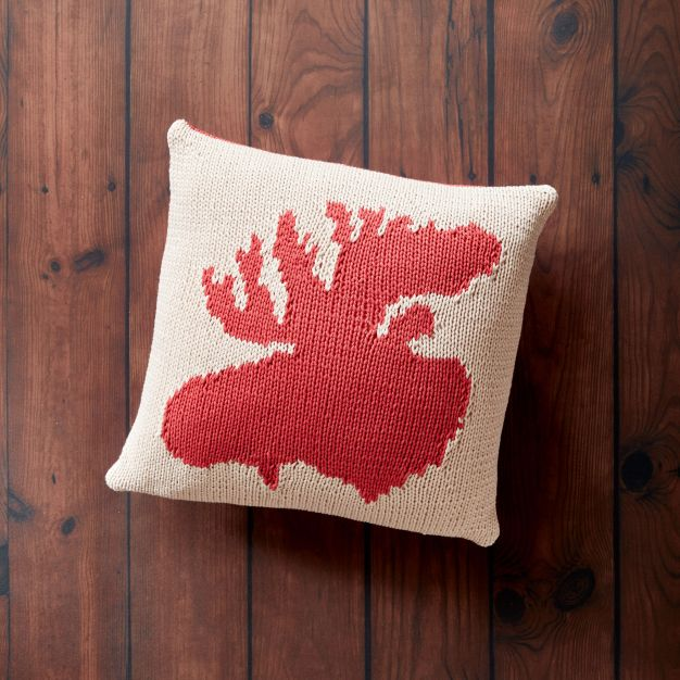 Free Knitting Patterns to make throw pillows. Roundup collection of free knitingpatterns for throw pillows, grouped for your convinience.
