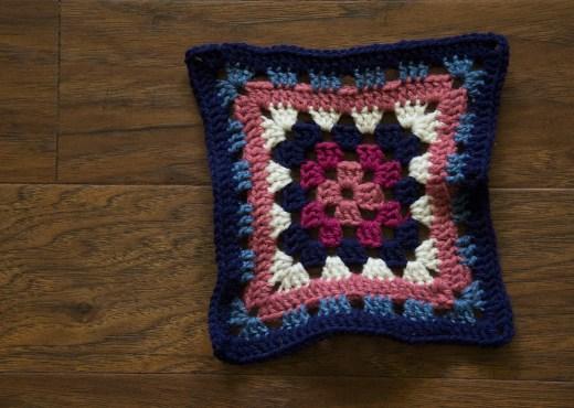 Multi-Colore Granny Square - Step-by-Step Tutorial