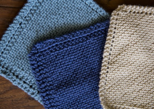 KnittedWashclothsPattern