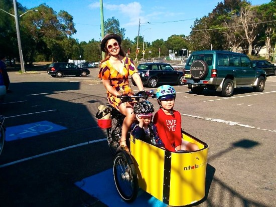 Sarah Imm: cycling with kids