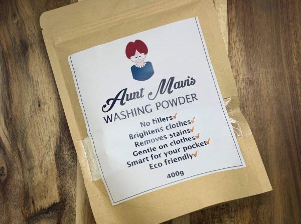 Washing Powder Aunt Mavis