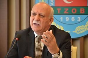 Türkiye Ziraat Odaları Birliği (TZOB) Genel Başkanı Şemsi Bayraktar