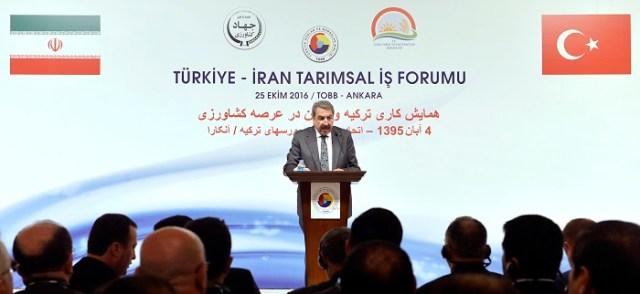 """Faik Yavuz: """"İran'a dönük yaptırımlara son veren Ocak ayında imzalana anlaşma, Türk iş dünyası tarafından sevinçle karşılandı. Biz, TOBB olarak, İran ile olan ilişkilerimize çok büyük önem veriyoruz."""""""