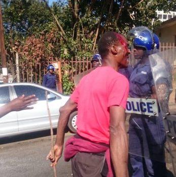 swaziland işçi protestosu