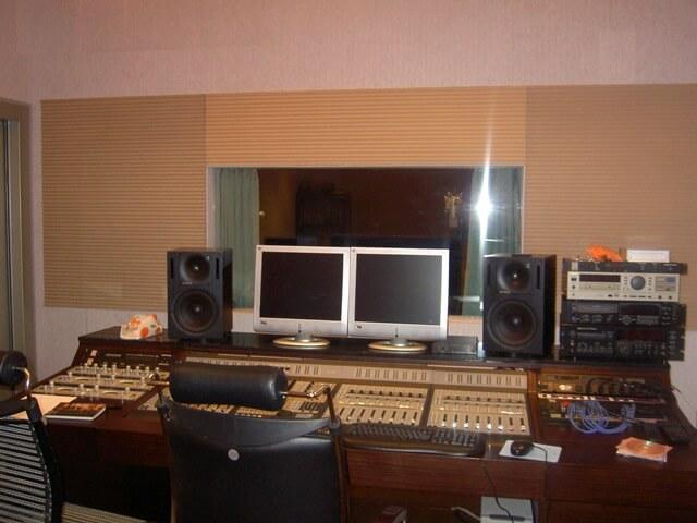 錄音室裝潢-錄音室器材