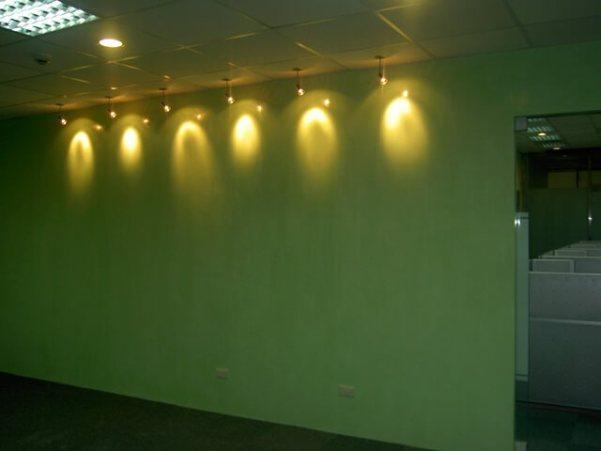 辦公室主牆-馬來漆