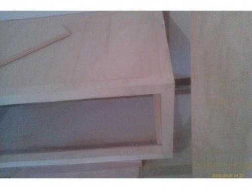 電視櫃臺面及框架組裝全長270公分組裝及懸空固定在牆壁