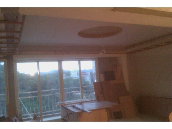 木工裝潢-圓形天花板