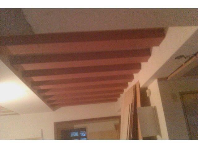 木工裝潢-格柵天花板