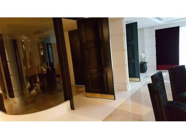 住家裝潢-圓弧型玻璃隔間
