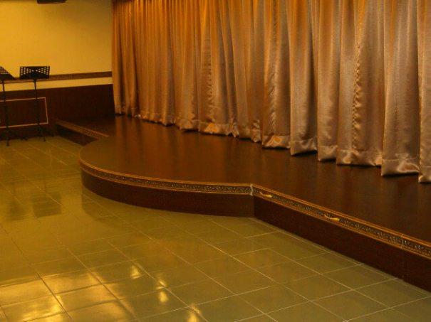 木工裝潢-教會可活動舞台