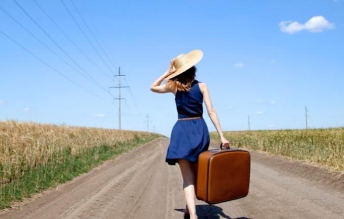 kadın seyahat