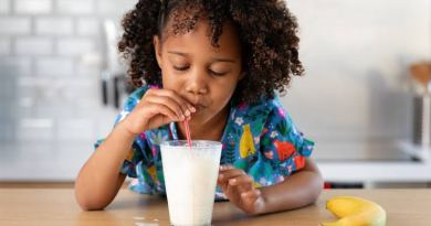 milk girl child