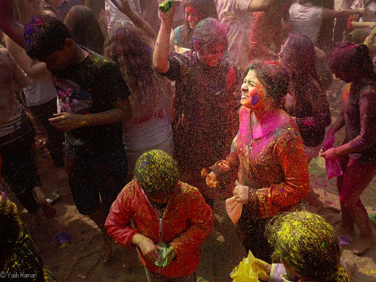 Holi in Hong Kong