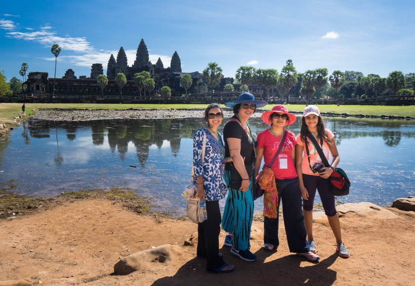 Angkor and the ladies