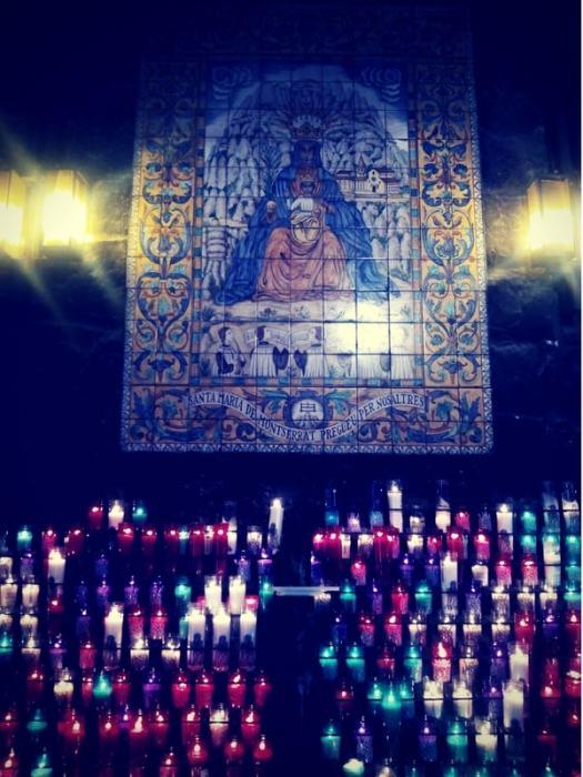 Ser mujer y la Virgen de Montserrat