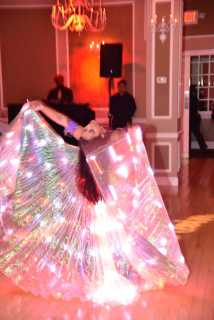Yasmine's Glowing Belly Dance Veil