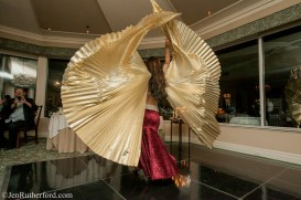 Yasmine Belly Dancing With Wings