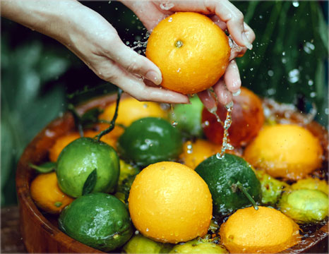 YASOU vegan day cream contains lemon and orange extract