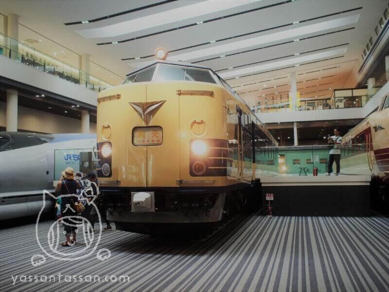 京都鉄道博物館本館クハネ581形35号車