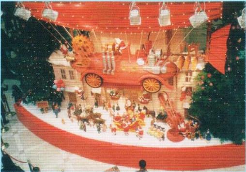 大型からくり什器(クリスマス用)