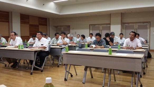 H25.7.26 平成25年度群馬県道路協会沼田支部通常総会