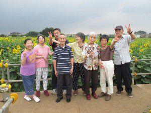 20150824清瀬ひまわりフェスティバルを観に行ってきました。2