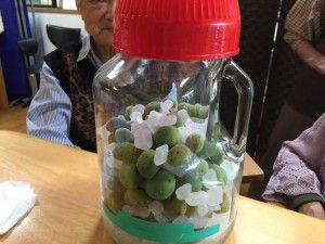 20150529みんなで梅ジュースを作りました!4
