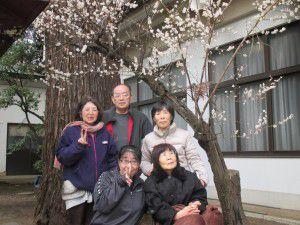 20150316近くの水天宮に梅を見に行って来ました。3