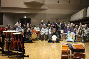 201503193つの事業所合同で、和太鼓演奏会を行いました!12