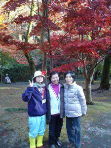 20141124新座市の平林寺に紅葉を観に出かけました。4